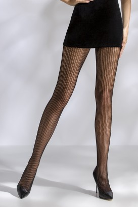 Collants résille TI044 - noir